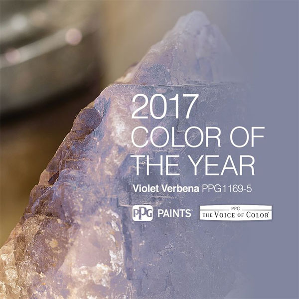 оттенок Violet Verbena от PPG Paints