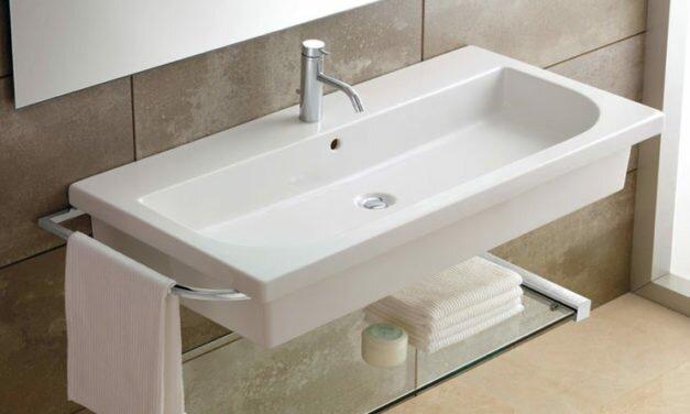 Высота раковины в ванной
